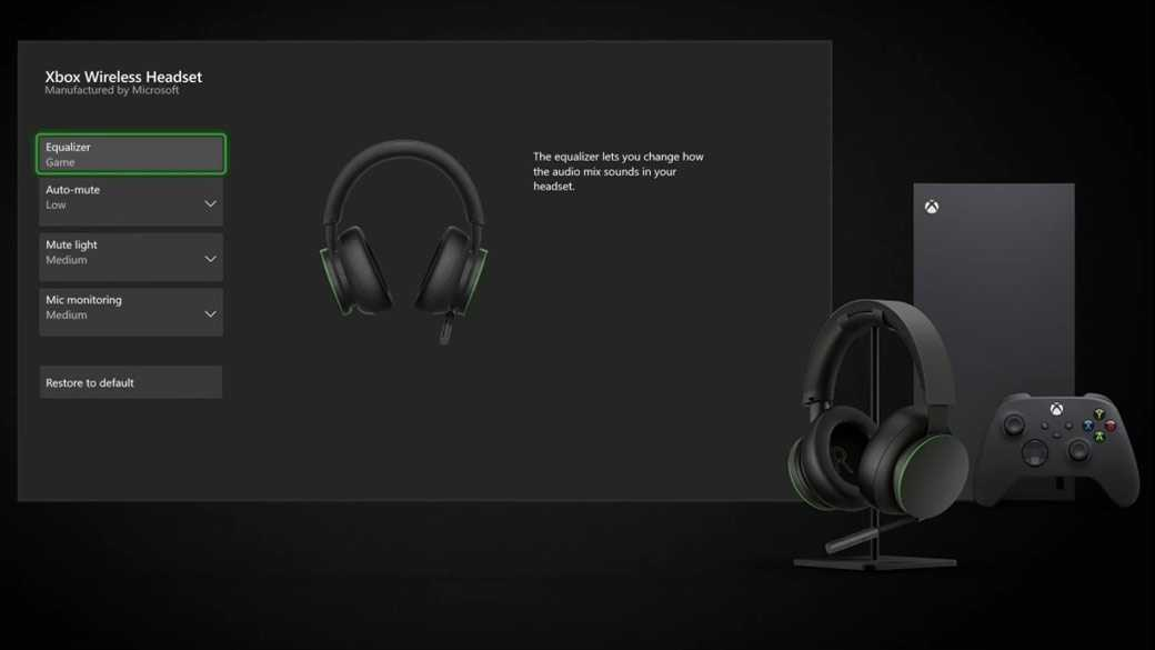 Xbox Wireless Headset: now available on the market