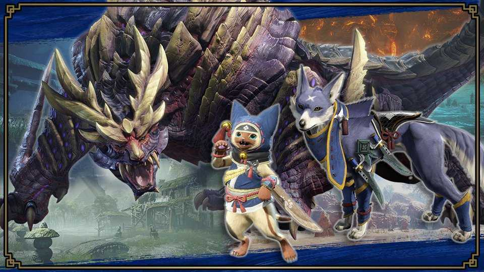 Super Smash Bros. Ultimate: Spirits of Monster Hunter Rise and how to get them