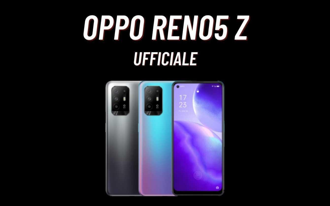 Oppo Reno5 Z 5G: officially announced