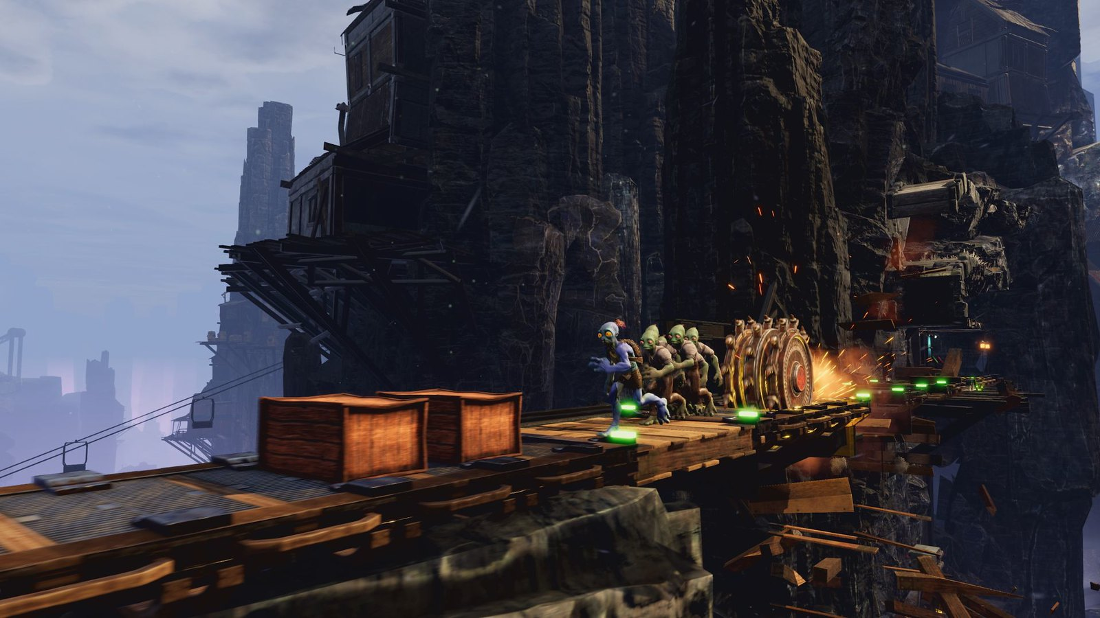 Oddworld review: Soulstorm, Abe's odyssey continues