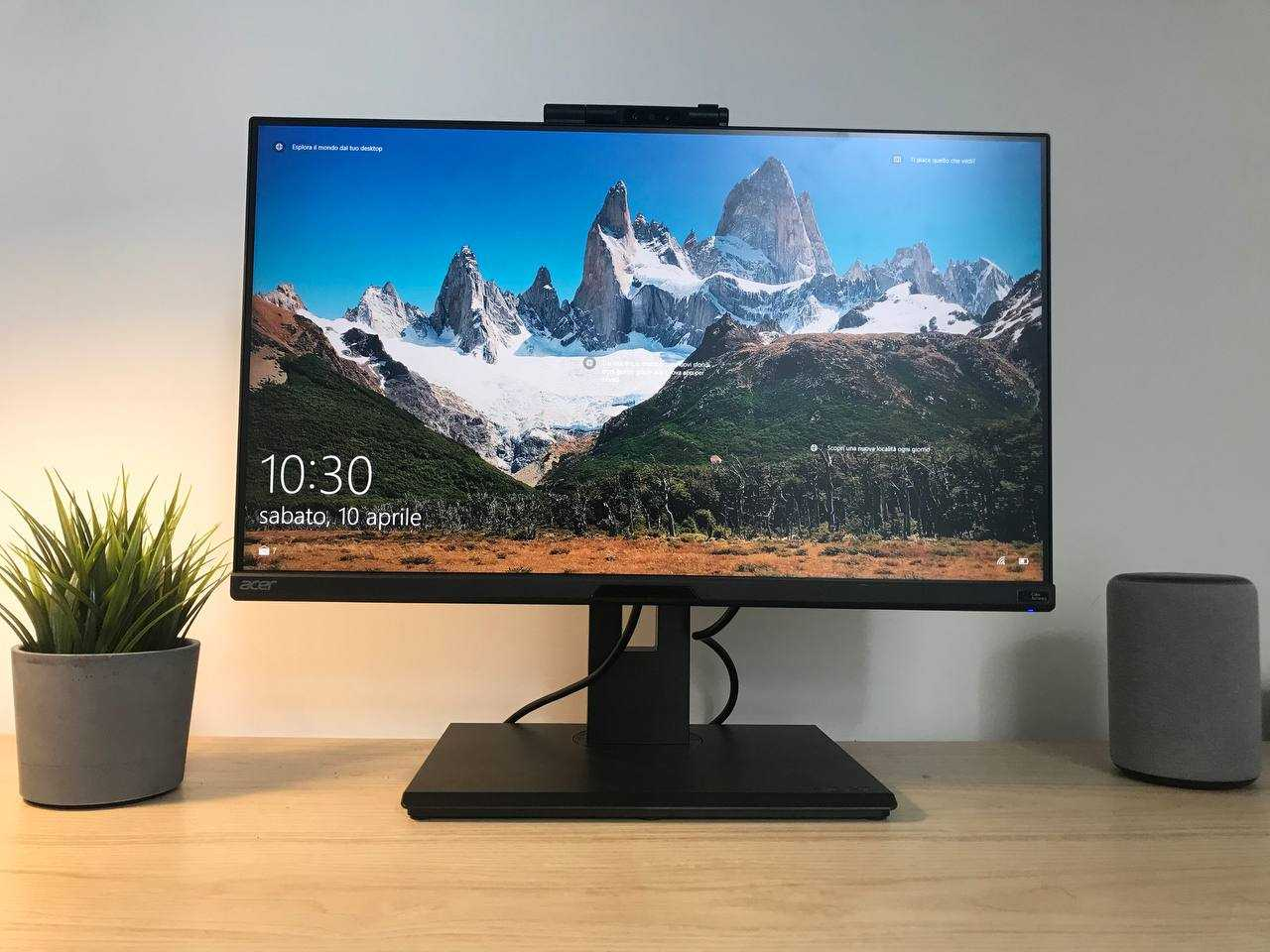 Acer B248Y review: the all-rounder for the office