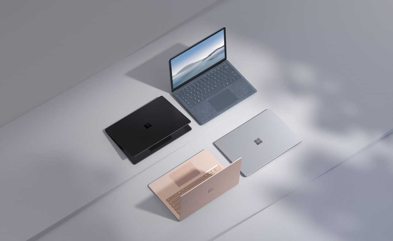 Microsoft: new Surface Laptop 4 and many other news
