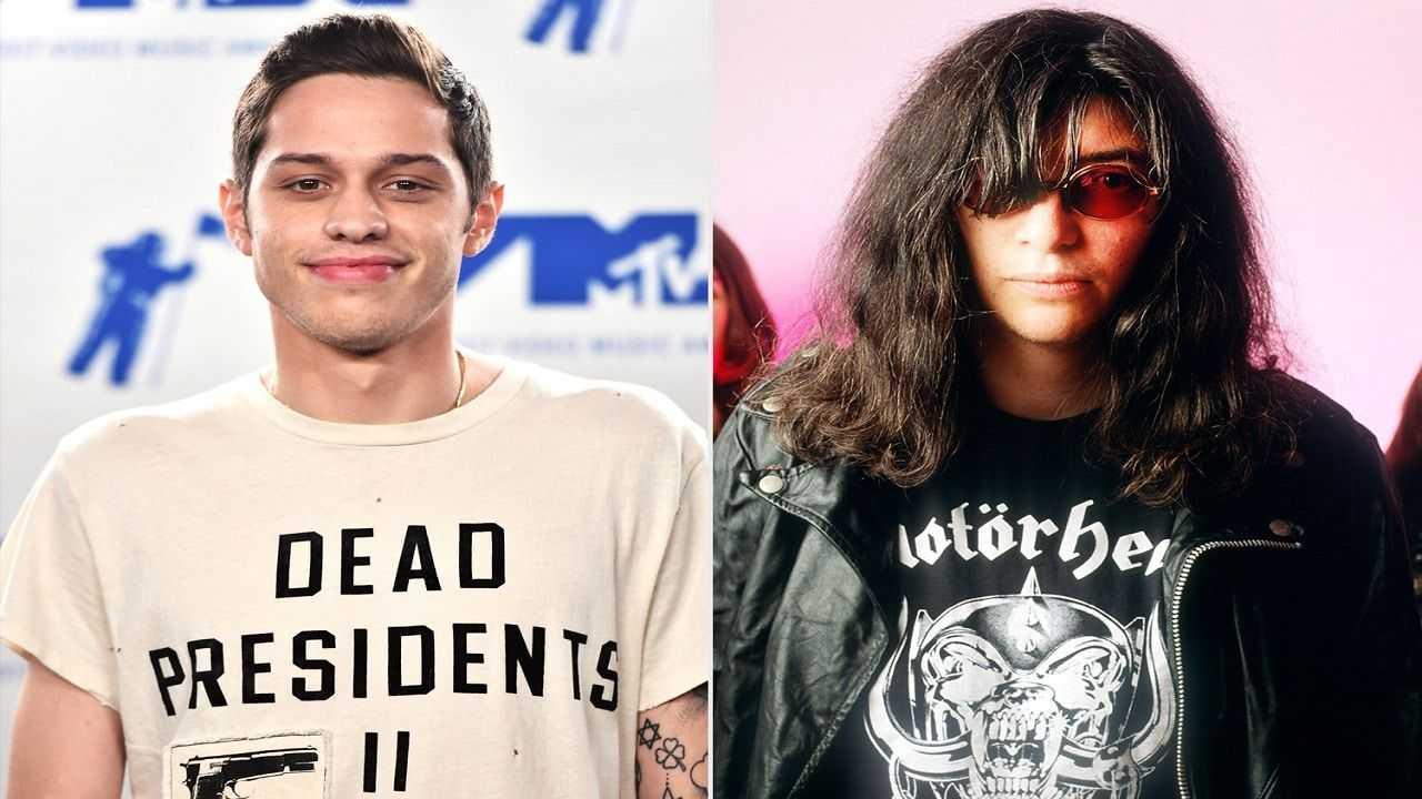 Pete Davidson will play Joey Ramone in the Netflix biopic