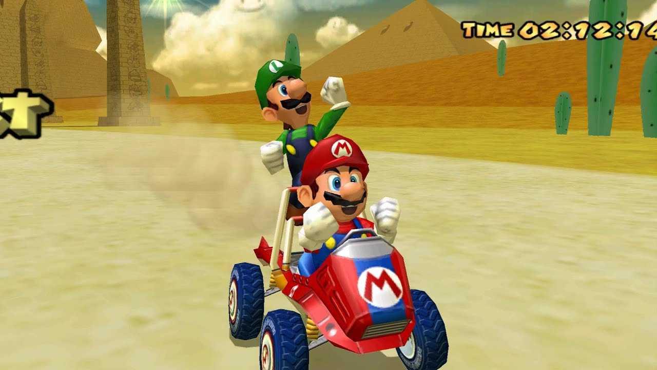 Retrogaming, Mario Kart: Double Dash !!  Racing, doubly insane!