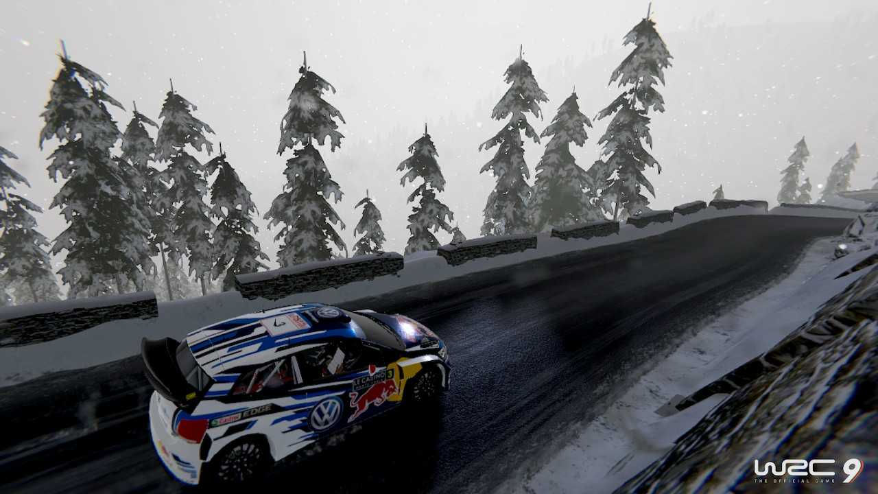 WRC 9 review for Nintendo Switch, the rally in portable mode