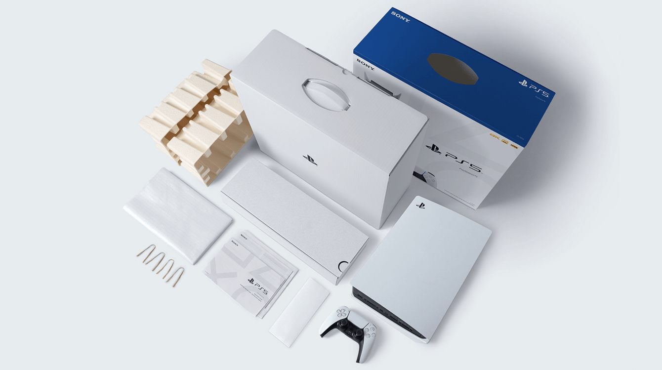PS5: the packaging is completely recyclable