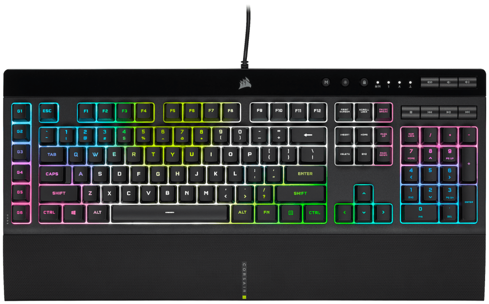 Corsair: here are the new K55 RGB PRO and PRO XT keyboards