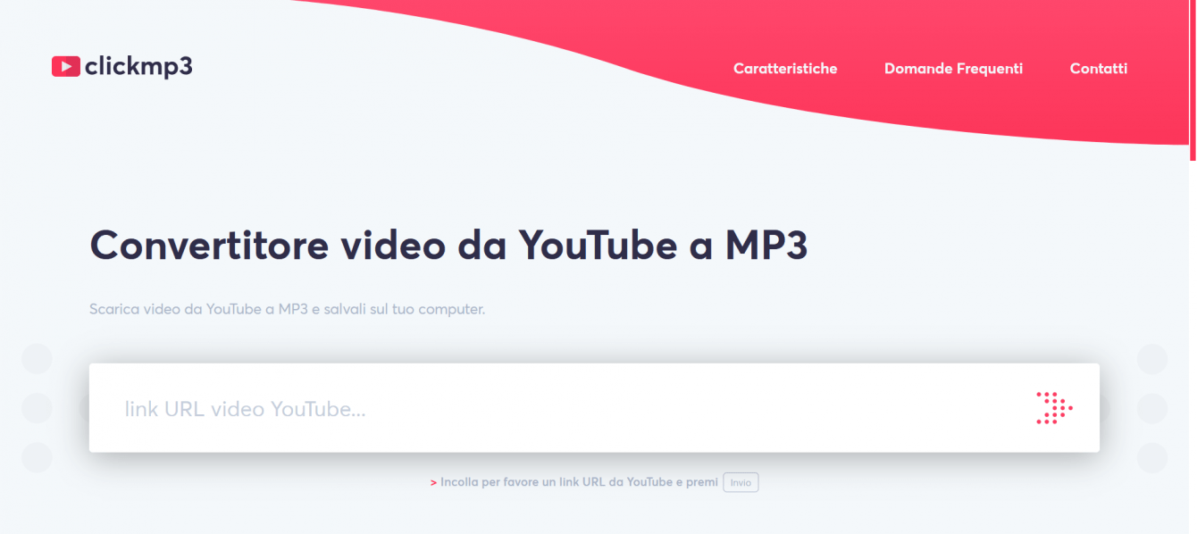 Download music from YouTube in mp3 format