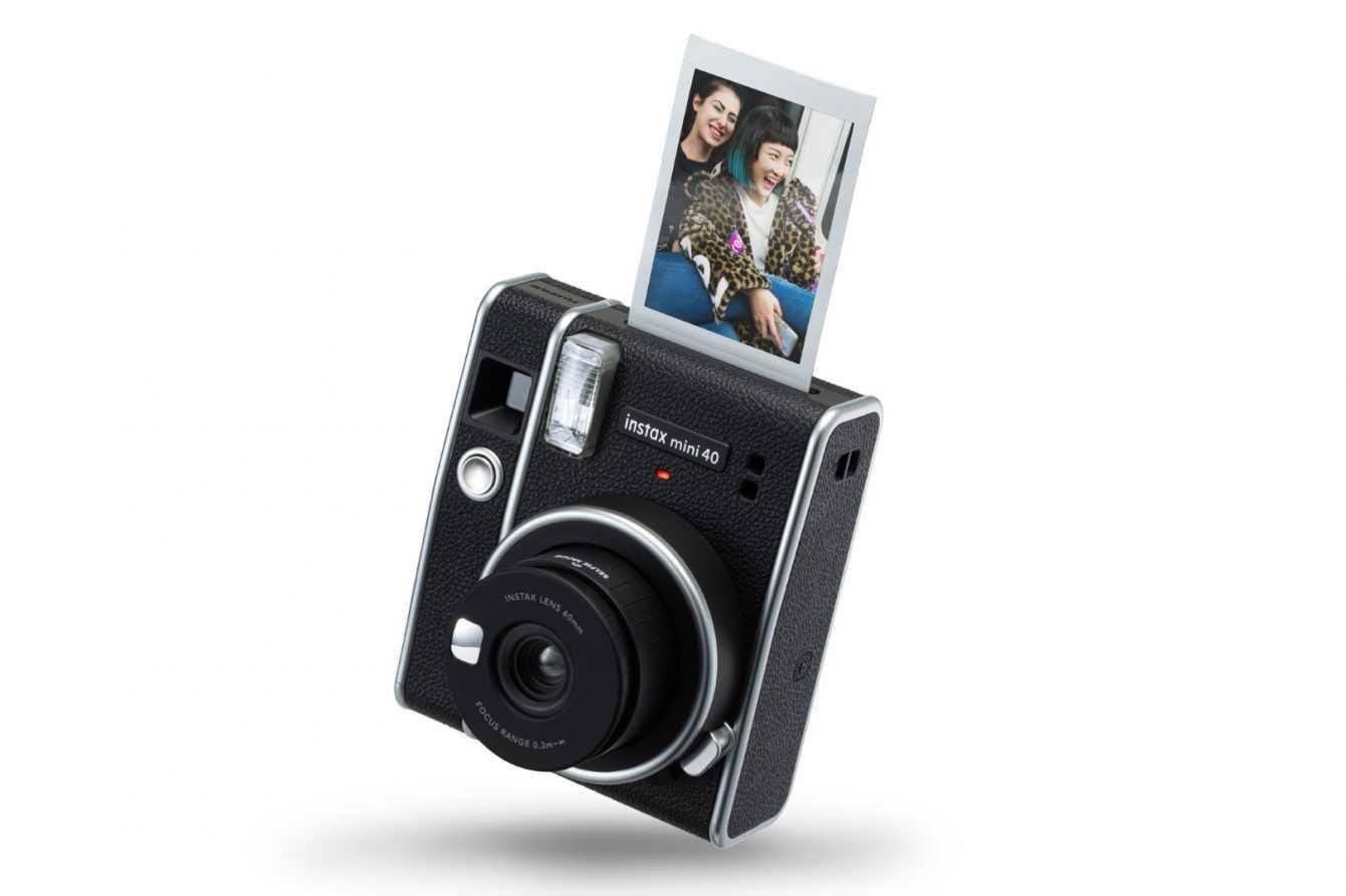 Fujifilm instax mini 40: the next generation instant camera