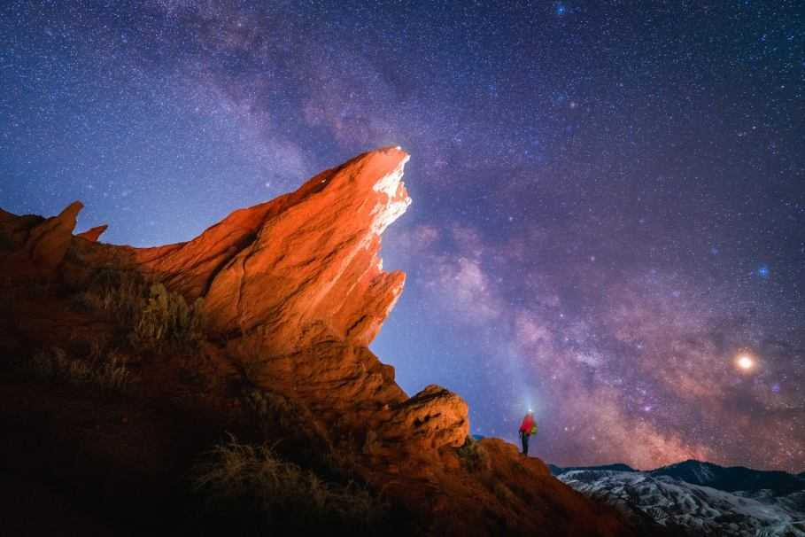 How to photograph the starry night sky with Sony Alpha
