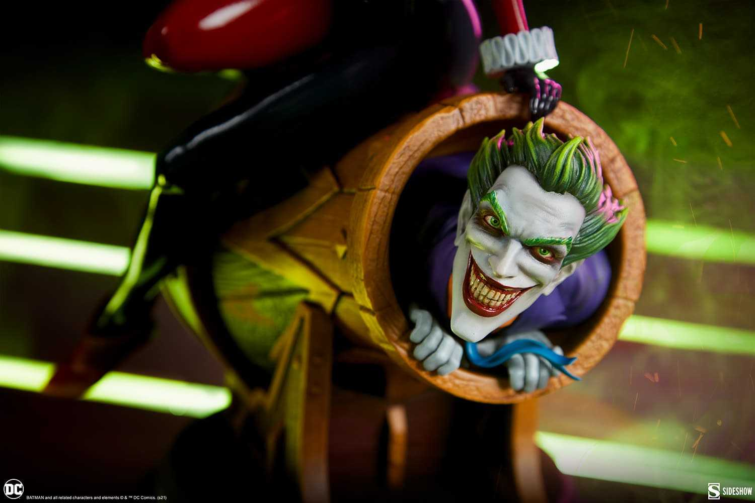 Joker and Harley Quinn: here is the new incredible diorama!