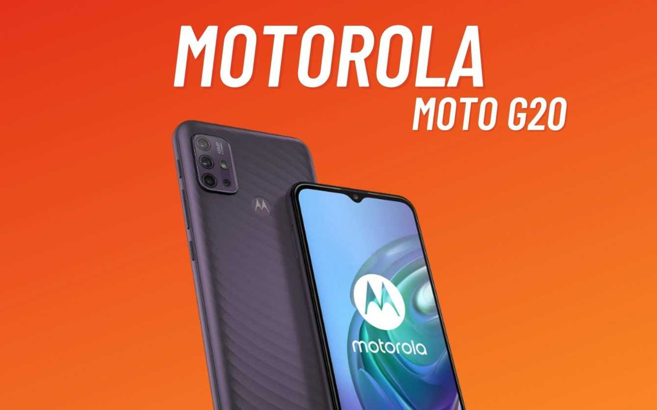 Moto G20, G60 and G40 Fusion: announcement in sight