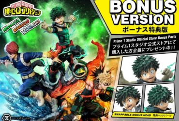 My Hero Academia: here is the new dream figure by Prime 1 Studio
