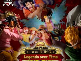 One Piece: presented the figures of the Ichiban Kuji Legends Over Time line by Banpresto