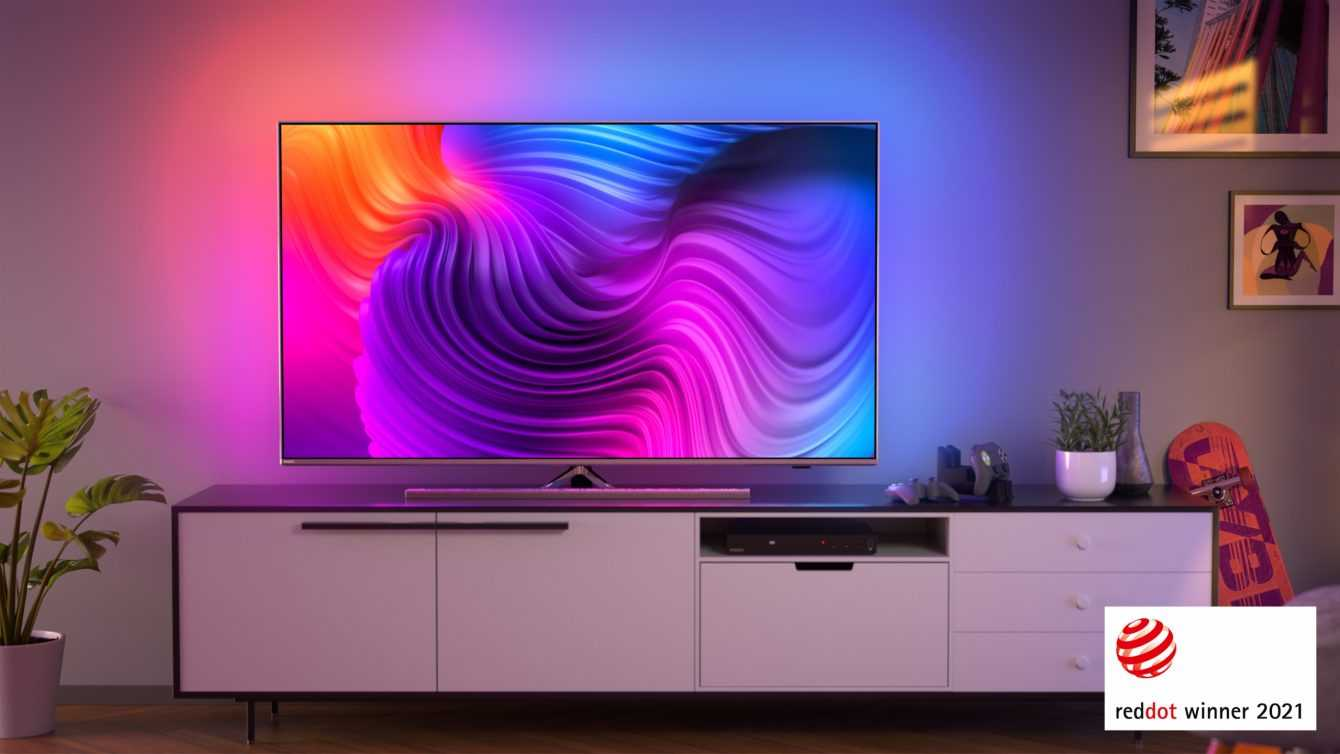Philips TV & Sound: awarded with four awards at the Red Dot Awards 2021