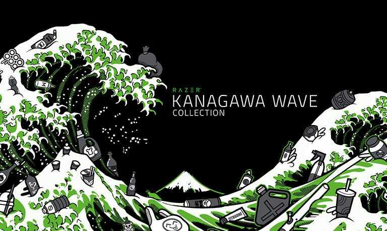 Razer: the Kanagawa Wave line winks at the environment