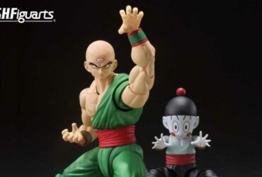SH Figuarts: Tenshinhan and Jiaozi from Dragon Ball join the collection!