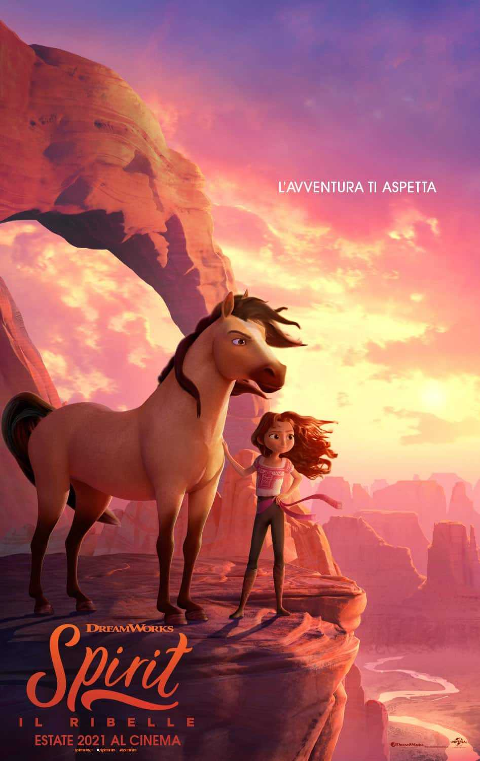 Spirit - The Rebel: the new film with the wild horse Spirit