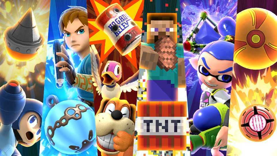 "Super Smash Bros. Ultimate: ""Eye That Burst!"""
