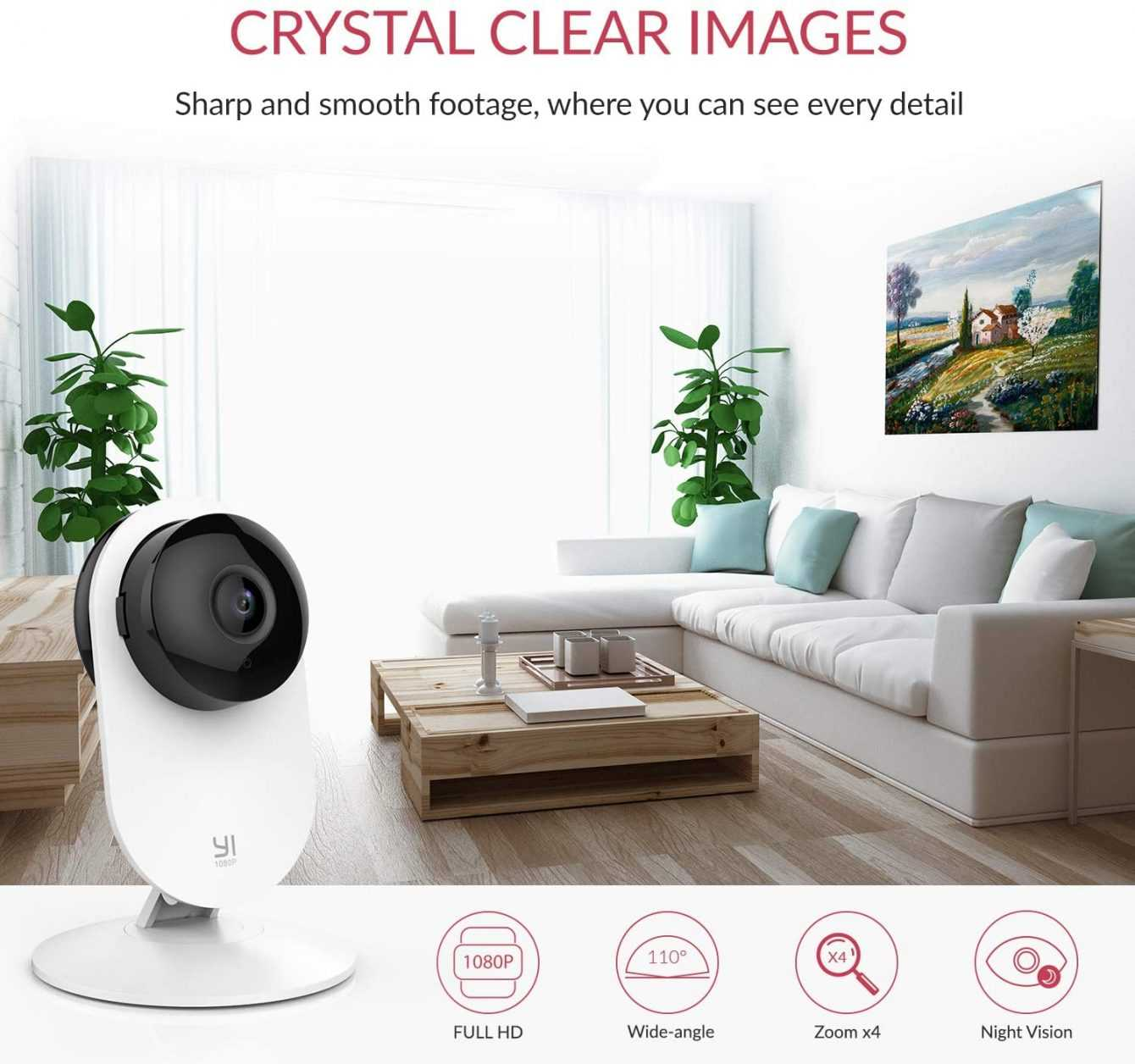 YI Home Camera 1080p: big Easter discount