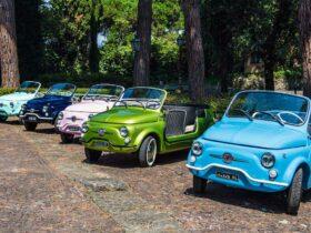 """Hertz e Selezione Italia presentano le Fiat 500 Jolly Icon-e """"spiaggina"""" in 5 colori thumbnail"""