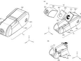Canon brevetta una fotocamera clip da smartphone con obiettivo magnetico thumbnail