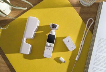 Debutta la nuova DJI Pocket 2 Sunset White thumbnail