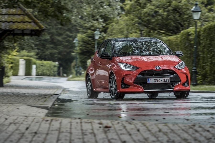 best selling cars europe yaris