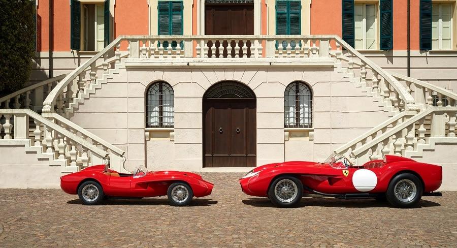 Ferrari Testa Rossa J comparison