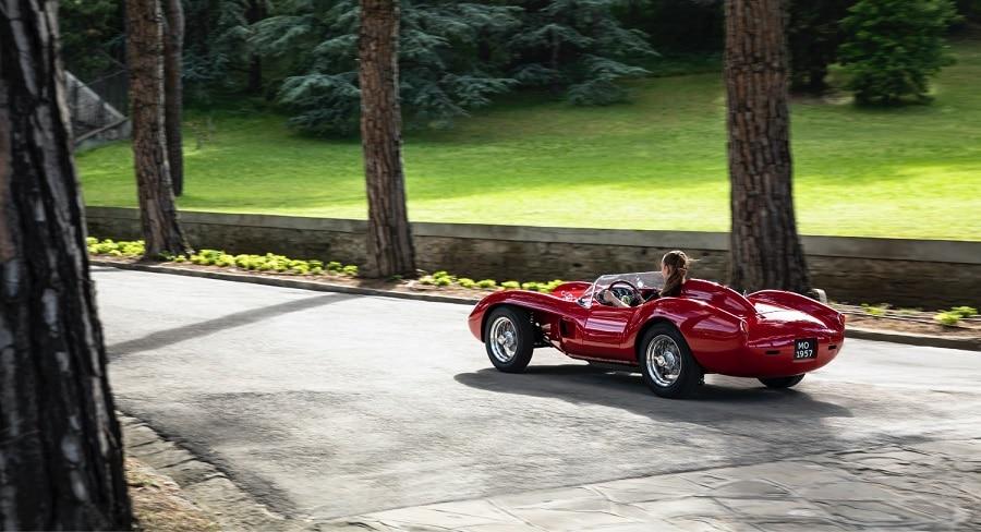 Ferrari Testa Rossa J rear
