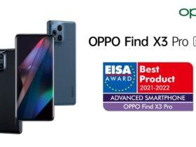 Oppo Find X3 Pro vince il premio EISA per il miglior smartphone thumbnail