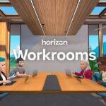 Facebook presenta le riunioni in VR di Horizon Workrooms thumbnail