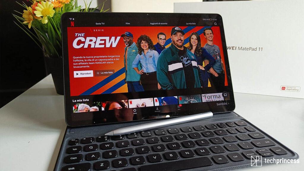 Huawei MatePad 11 display review