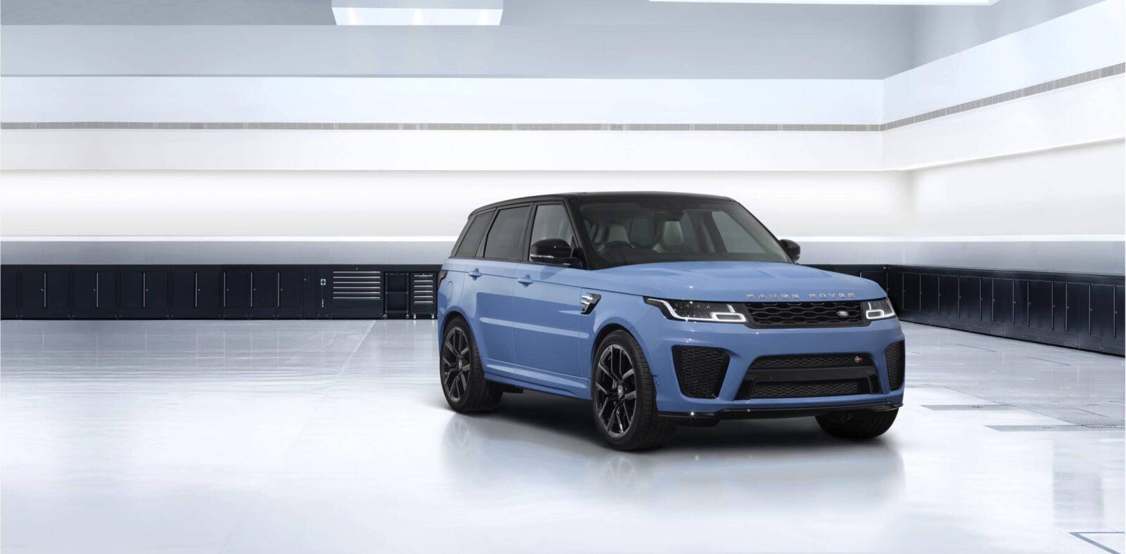 Range Rover Sport SVR Ultimate Edition: l'ultima creatura di Land Rover thumbnail