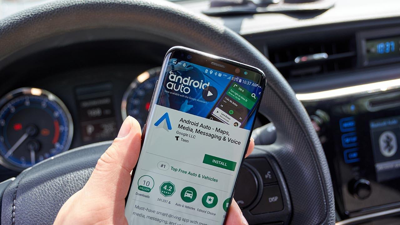 Android Auto, addio thumbnail