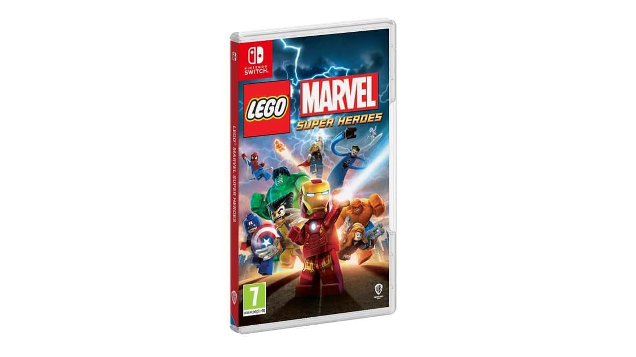 Lego Marvel Super Heroes arriva su Nintendo Switch ad Ottobre thumbnail