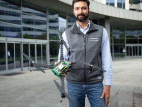 Qualcomm presenta il suo primo drone 5G thumbnail