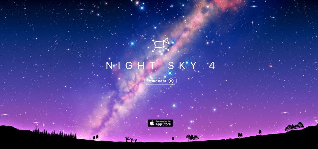 App watching stars
