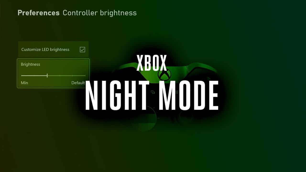Xbox Night Mode: Microsoft è al lavoro su una nuova funzione thumbnail