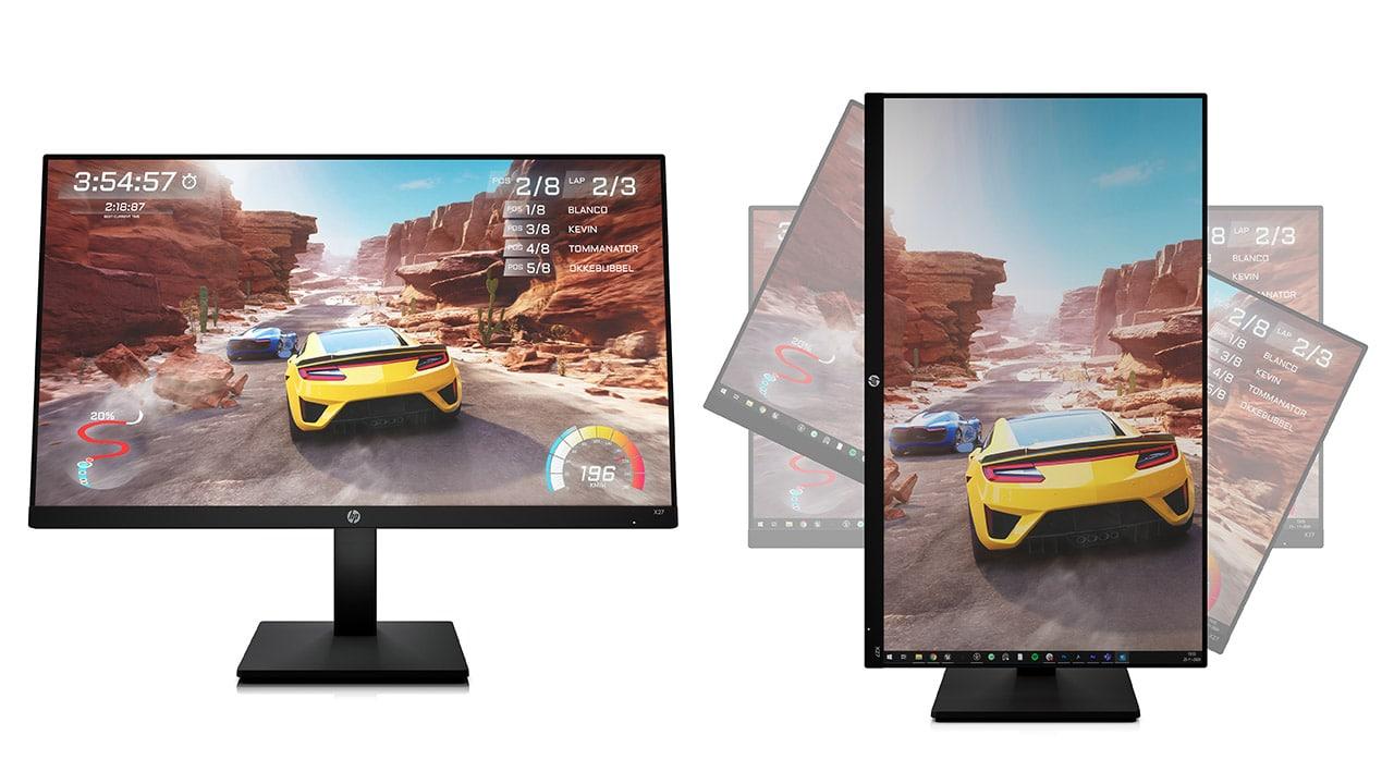 HP ha lanciato sette nuovi monitor da gaming a 165Hz thumbnail