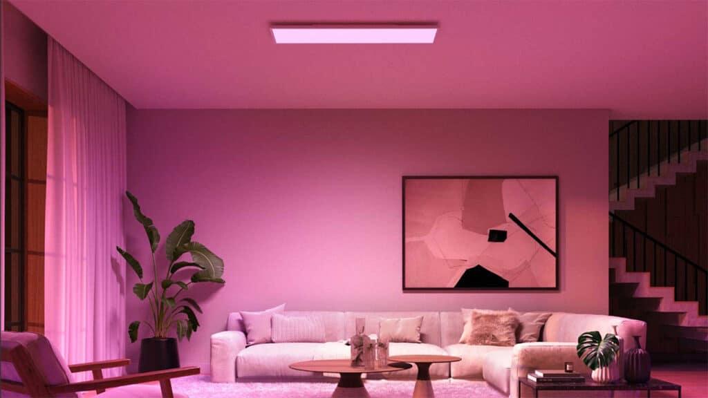 Lampadine Philips Hue - Surimu ceiling panel rectangle
