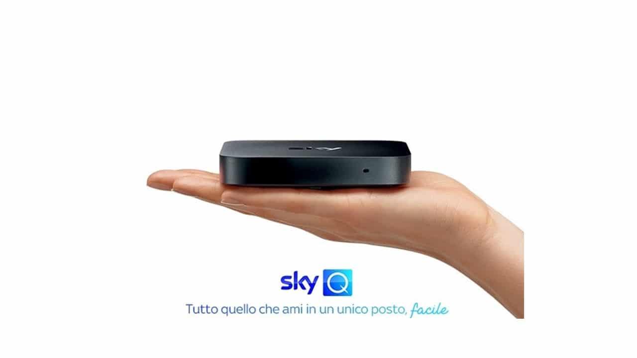 Sky Q e il nuovo box: più piccolo e flessibile thumbnail