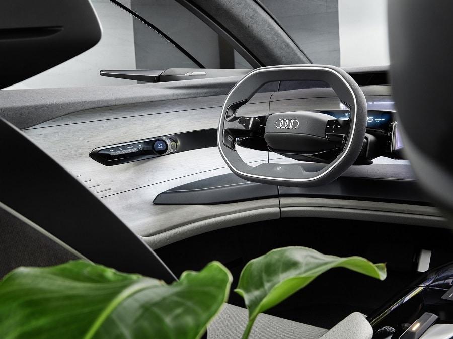 Audi grandsphere interior detail