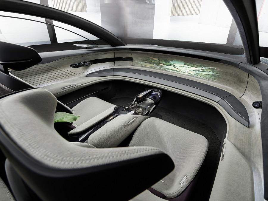 Audi grandphere interior
