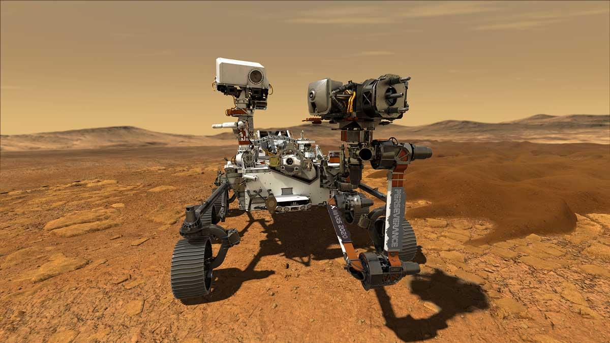 Perseverance ha raccolto con successo il suo primo campione di roccia su Marte thumbnail