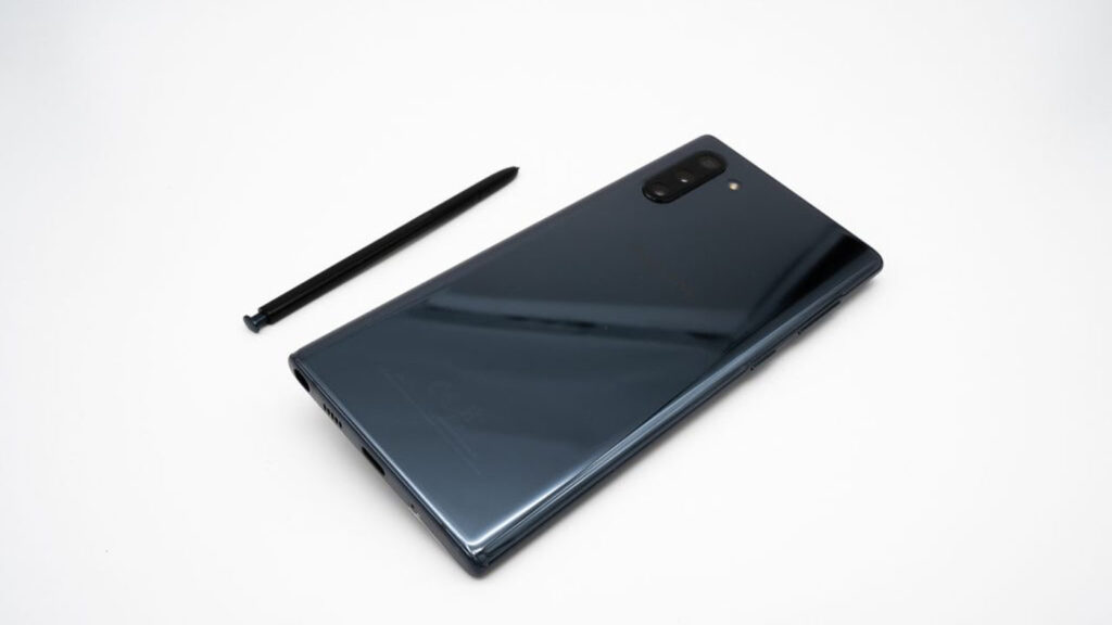 samsung galaxy note 10 april security patch update