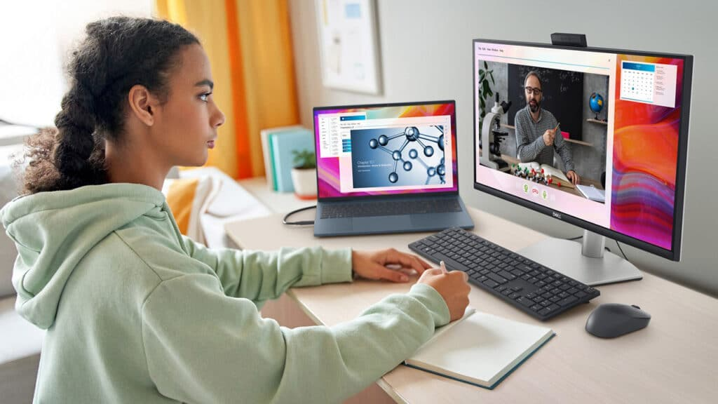 Dell video conferencing monitor