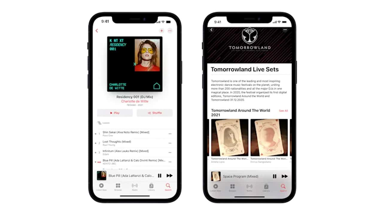 Apple Music aggiunge nuove funzionalità ai mix DJ grazie a Shazam thumbnail