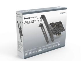 Sound Blaster Audigy Fx V2: la nuova scheda audio è ufficiale thumbnail