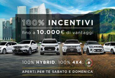Ecco tutti gli incentivi per l'acquisto di Suzuki in occasione di Porte Aperte thumbnail